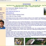 yoga directory satvik sadan screen shot