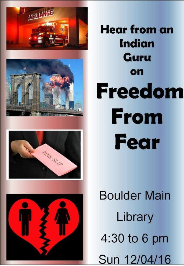 Hear from Indian Guru on freedom from hear